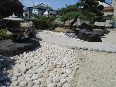 手入れの少ない庭への進化 | 和風のお庭